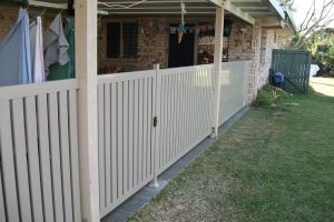 Aluminium fences and gates