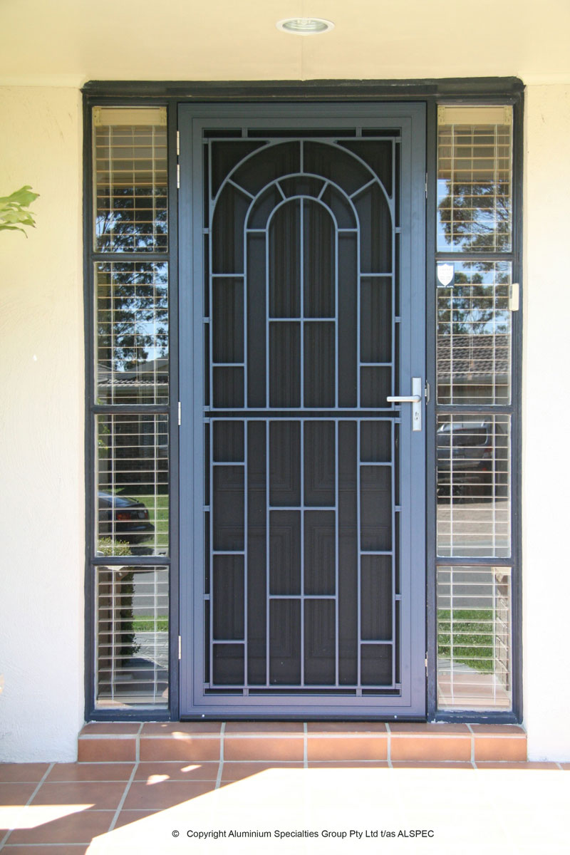 Cast Aluminium Colonial Doors Aztec Screens