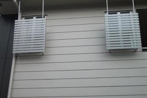 Aluminium privacy screens