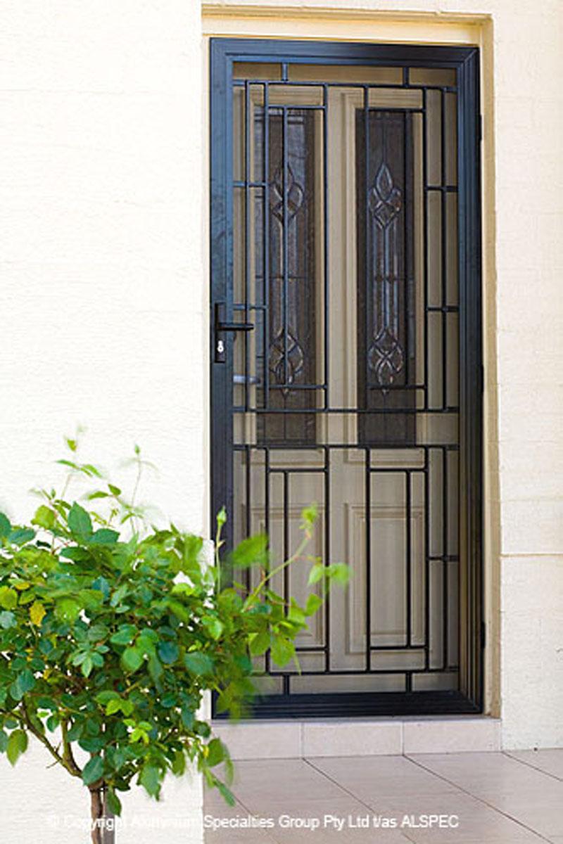 Cast Aluminium Colonial Doors Aztec Screens